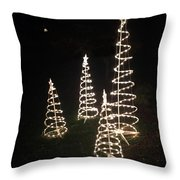 All Is Bright Throw Pillow