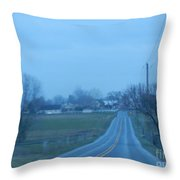 All Is Calm And Peaceful Throw Pillow