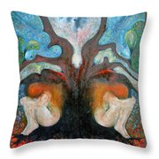 All Is The Whole  Throw Pillow