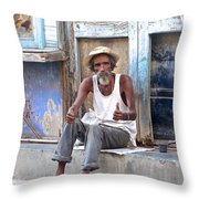 All Is Well With Thumbs Up Throw Pillow
