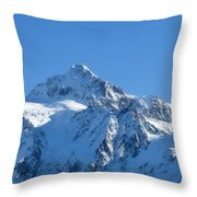 All Is White Throw Pillow