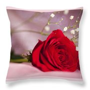All Occasion Rose Throw Pillow