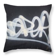 All Out Of Soda Throw Pillow