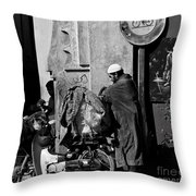 All Packed Throw Pillow by Marion Galt