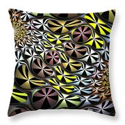 All Pied Throw Pillow
