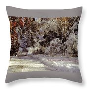 All Roads Lead Home Throw Pillow