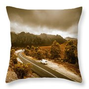 All Roads Lead To Adventure Throw Pillow