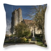 All Saints Birling Throw Pillow