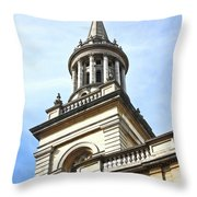 All Saints Church Oxford High Street Throw Pillow