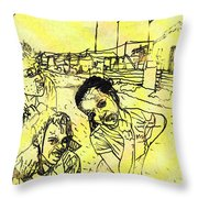 All Smiles In Nyanga Throw Pillow
