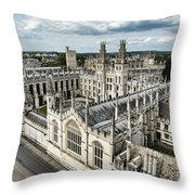 All Souls College - Oxford University Throw Pillow