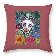 All Souls Day Buffy Throw Pillow