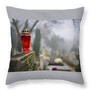 All Souls' Day Throw Pillow
