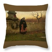All Souls Day Throw Pillow