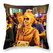 All Souls Procession Tucson 3 Throw Pillow