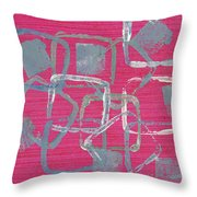 All Squared Away Throw Pillow