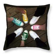 All Stars Ready For The Prom Throw Pillow