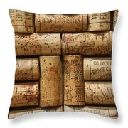 Grand Cru  Throw Pillow