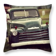 All The Chicks Pick Chevrolet Throw Pillow