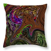 All The Colors Of A Dream Within A Dream  Throw Pillow