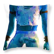 All The Colors Of The Rainbow Throw Pillow