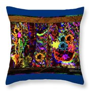 All The Flowers We Meant To Give Each Other Throw Pillow