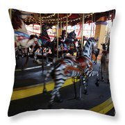 All The Pretty Ponies Throw Pillow