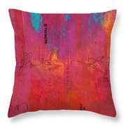 All The Pretty Things Throw Pillow