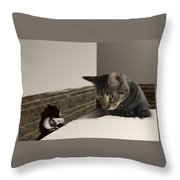 All Things Considered I Would Rather Bbe In Philadelphiaa Throw Pillow