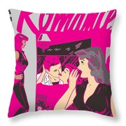 All True Romances 5 Pinks Throw Pillow