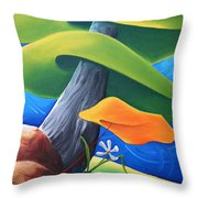 All Under One Roof Throw Pillow