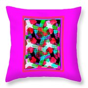All Units... A Melon Disturbance In Sector 49 Throw Pillow