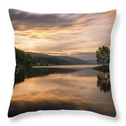 Allegany Sunset Throw Pillow
