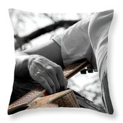 Allegiance  Throw Pillow by Elizabeth Hart