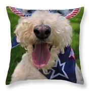 Allegiance Throw Pillow