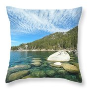 Allegiance To Nature Throw Pillow