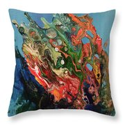 Allegorical Aftermath Throw Pillow