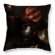 Allegory Of The Four Elements Throw Pillow