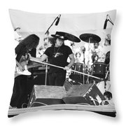 Allen And Ronnie And Artimus Throw Pillow
