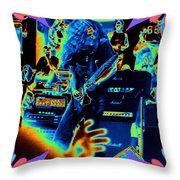 Allen Cosmic Free Bird Oakland 1 Throw Pillow