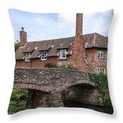 Allerford - England Throw Pillow