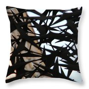Alley Art Throw Pillow