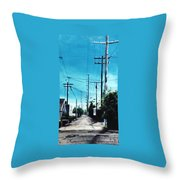 Alley No. 1 Throw Pillow