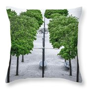 Alley Of Perfectionists Throw Pillow