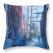 Alley Shortcut Throw Pillow