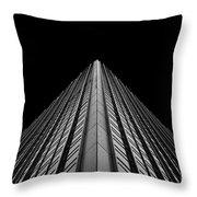 Alliance Bernstein Building Throw Pillow