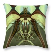Allien Portal Throw Pillow