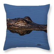 Alligator 17 Throw Pillow