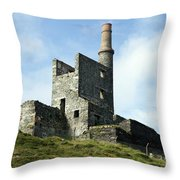 Allihies Copper Mine West Cork Throw Pillow