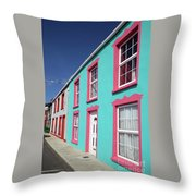 Allihies Streetscape West Cork Throw Pillow
